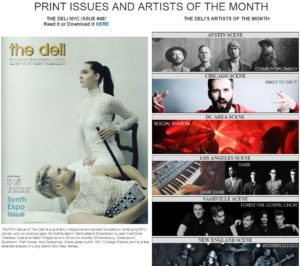 Deli Magazine Artist of the Month